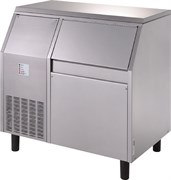 Льдогенератор чешуйчатого льда GEMLUX GM-IM200SPR WS водяное охлаждение, производительность 200 кг/сутки (остаточное содержание влаги 25%), встроенный бункер для хранения льда вместимостью 55 кг, нерж.сталь