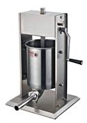 Шприц-наполнитель GEMLUX GL-SV-10 вертикальный, ручной, емкость 10 л, нерж.сталь, в комплекте 4 насадки (диаметр 16, 22, 32, 38 мм)