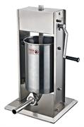 Шприц-наполнитель GEMLUX GL-SV-12 вертикальный, ручной, емкость 12 л, нерж.сталь, в комплекте 4 насадки (диаметр 16, 22, 32, 38 мм)