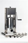 Шприц-наполнитель GEMLUX GL-SV-3 вертикальный, ручной, емкость 3 л, нерж.сталь, в комплекте 4 насадки (диаметр 16, 22, 32, 38 мм)