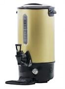 Кипятильник GEMLUX GL-WB8G настольный, автономный (наливной), двойные стенки с термоизоляцией, полезный объем 7,2 л, закрытый ТЭН, мерное стекло, сливной кран, материал корпуса - нерж.сталь/пластмасса, цвет золотой