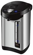 Кипятильник GEMLUX GL-TP50HMS настольный, автономный (наливной), объем 4,5 л, 3 способа розлива (ручной насос, электронасос, нажатие чашкой на рычаг), функция подогрева и повторного кипячения, нерж.сталь/пластмасса