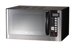 Микроволновая печь GEMLUX GL-MW90G28 настольная, с поворотной тарелкой и грилем, сенсорное управление, программируемый микропроцессор, мощность СВЧ 900 Вт, мощность гриля 1000 Вт, емкость камеры 28 л, нерж.сталь/окраш.сталь