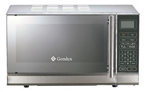 Микроволновая печь GEMLUX GL-MW90N25 настольная, с поворотной тарелкой, сенсорное управление, программируемый микропроцессор, мощность СВЧ 900 Вт, емкость камеры 25 л, нерж.сталь/окраш.сталь