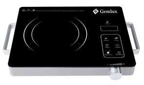 Плита GEMLUX GL-IC20S электрическая, настольная, инфракрасная, 1 зона нагрева, сенсорное управление, электронный таймер на 2 ч 59 мин, материал корпуса - нерж.сталь