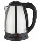 Чайник электрический GEMLUX GL-K101SS резервуар объемом 1,8 л, закрытый ТЭН, функция автоотключения, материал корпуса - нерж.сталь/пластмасса