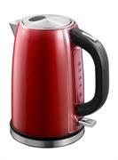 Чайник электрический GEMLUX GL-EK-88R резервуар объемом 1,7 л с индикацией уровня воды, закрытый ТЭН, функция автоотключения, материал корпуса - нерж.сталь/пластмасса, цвет красный