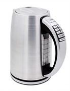 Чайник электрический GEMLUX GL-EK-9217WF электронное управление, объем резервуара 1,7 л, закрытый ТЭН, рабочая температура 70-100оС, функция поддержания температуры, функция автоотключения, мерное стекло с подсветкой, фильтр, нерж.сталь