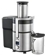 Соковыжималка GEMLUX GL-PJ-999 для фруктов и овощей, электронное управление с ЖК-дисплеем, 5 скоростей, автоматическое отделение отходов, контейнер для сока объемом 0,75 л, контейнер для отходов объемом 2 л, нерж.сталь/пластмасса