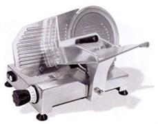 Гастрономическая машина CELME FAMILY 250 CE полуавтоматическая, нож диаметром 250 мм из стали с неприлипающим покрытием, сечение продукта 230х175 мм, толщина среза 0-16 мм, съемное затачивающее устройство, алюминий