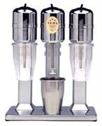 Миксер для коктейлей VEMA FL 2027/L 1 скорость, 3 шпинделя, 3 стакана из нерж.стали емкостью 1 л