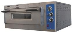Печь для пиццы MEC SMART 4электрическая, 1 модуль с керамическим подом, подсветкой и термометром, размеры камеры 660х660х150 мм, нерж.сталь
