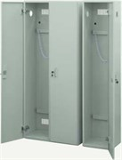 Шкаф для баллонов одностворчатый 350х370х1660 Сталь