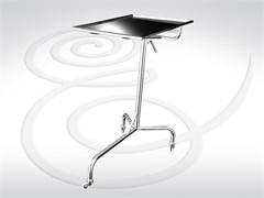 Стол инструментальный хирургический с полкой СИО-01 (М)