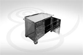 Стол инструментальный анестезиолога СИА-01-4