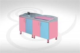 Пеленальный комбинированный модуль с ванночкой и тумбой 24-PE220