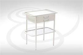 Столик МММ-509 со стеклянной столешницей