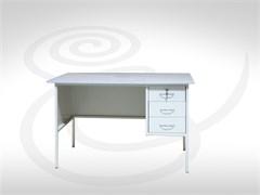 Стол однотумбовый металлический СМ-1