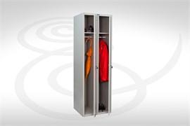 Шкаф для одежды металлический МД LS(LE)-21