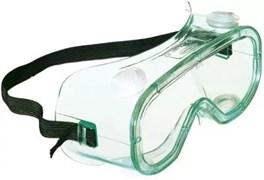 Закрытые защитные очки Эл-Джи (LG) с непрямой вентиляцией, сменные прозрачные линзы из поликарбоната с покрытием от царапин и запотевания
