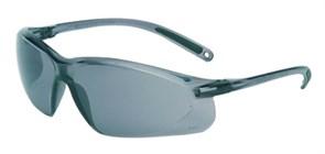 Открытые защитные очки А700 с дымчатыми линзами из поликарбоната. Покрытие от царапин.