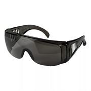 Открытые защитные очки Экс-Си (XC) синяя оправа, сменные линзы с затемнением 3 DIN и двусторонним покрытием от царапин