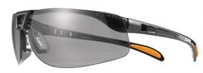 Открытые защитные очки Протеже (Protege)  со сменными дымчатыми линзами из поликарбоната. Покрытие от царапи