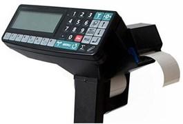 Терминал-регистратор с печатью этикеток и чеков на 2 индикатора