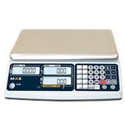 Весы торговые (вес-цена-стоимость) RS-232 MR1-15