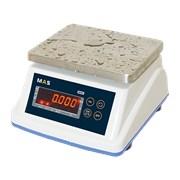 Весы порционные пылевлагостойкие с классом защиты IP-65 с дополнительным дисплеем на задней стороне корпуса MSWE-30D