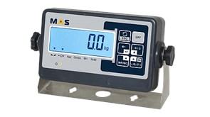 Индикатор весовой с жидкокристаллическим дисплеем с подсветкой в комплекте с кронштейном для крепления на стену. MI-B