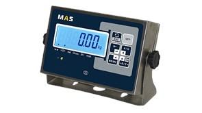 Индикатор весовой с жидкокристаллическим дисплеем с подсветкой в пылевлагозащищенном исполнении корпуса (IP-65) в комплекте с кронштейном для крепления на стену. MI-H