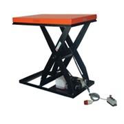Подъемный электрический стол HIW 4,0; нагрузка 2000 кг, высота подъема 1000 мм