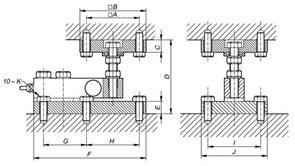 Установочный комплект TW BSS 3-5