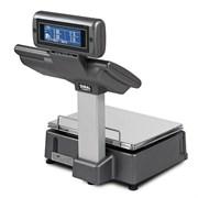 Весы с чекопечатью M-525,  с дисплеем и клавиатурой для управления, Ethernet, сегментный дисплей