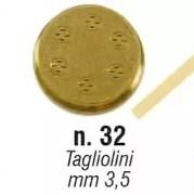 Форма SIRMAN для CONCERTO 5 №32 тальолини 3,5 мм