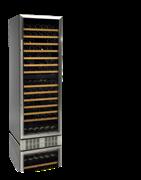 Шкаф винный TEFCOLD TFW365-2S рама двери из нержавеющей стали